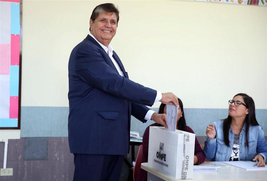 Former Peruvian President Alan Garcia dies after shooting himself