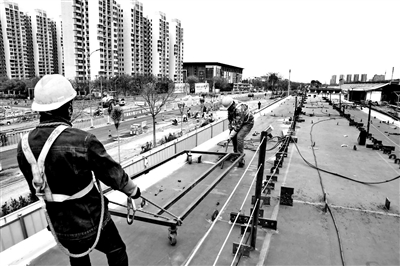 北京市首条自行车专用路5月完工