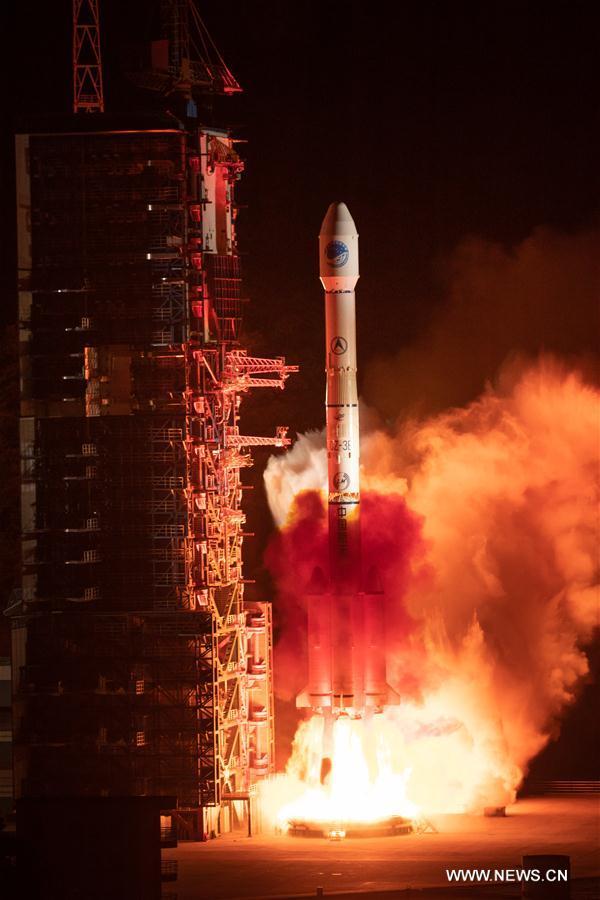 CHINA-XICHANG-NEW BEIDOU SATELLITE-LAUNCH (CN)