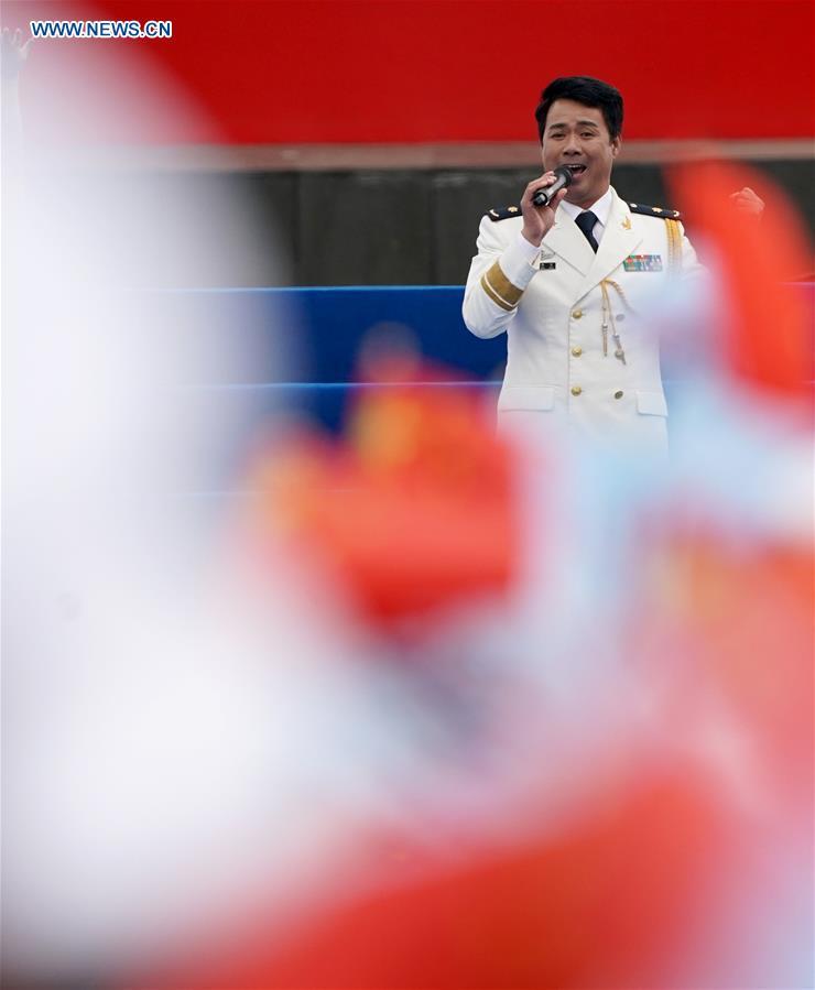 CHINA-SHANDONG-QINGDAO-MILITARY MUSIC DISPLAY (CN)