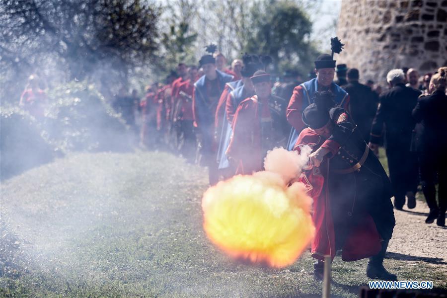 Highlights of firing flintlocks at Easter in Croatia