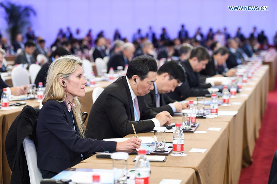 (BRF)CHINA-BEIJING-BELT AND ROAD FORUM-CEO CONFERENCE (CN)