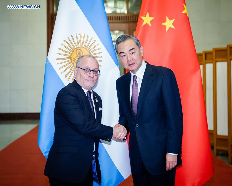 CHINA-BEIJING-WANG YI-ARGENTINE FM-MEETING (CN)