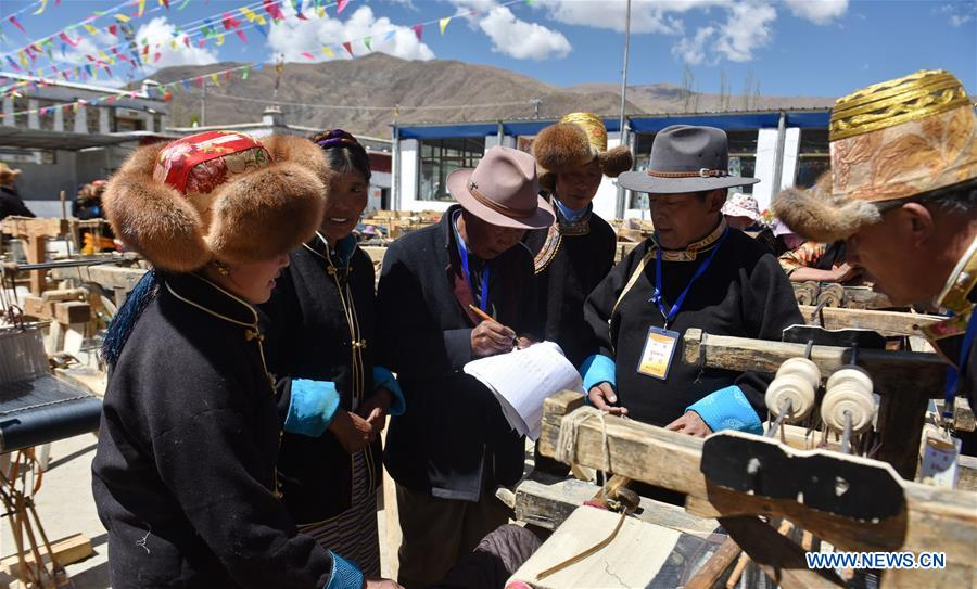 CHINA-TIBET-PULU COMPETITION (CN)