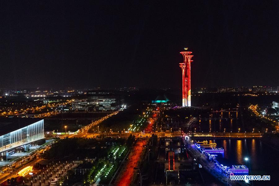 CHINA-BEIJING-LIGHT-NIGHT VIEW (CN)