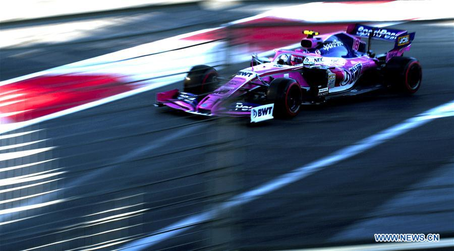 Highlights Of Qualifying Session At Baku Formula One City Circuit 4 People S Daily Online