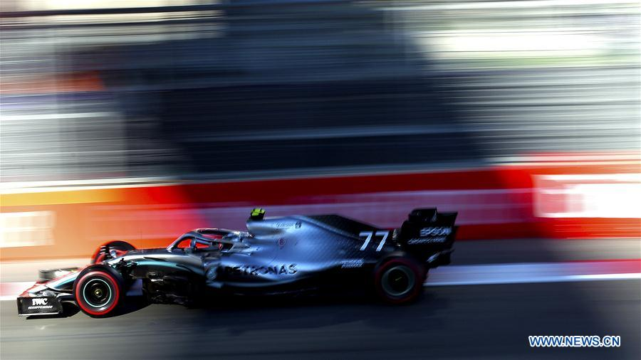 Highlights Of Qualifying Session At Baku Formula One City Circuit 2 People S Daily Online