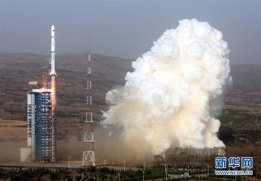 (科技)(2)我國成功發射天繪二號01組衛星