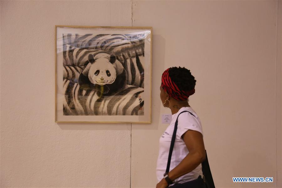 2nd Belt and Road Afro-Sino art exhibition opens in Zimbabwe