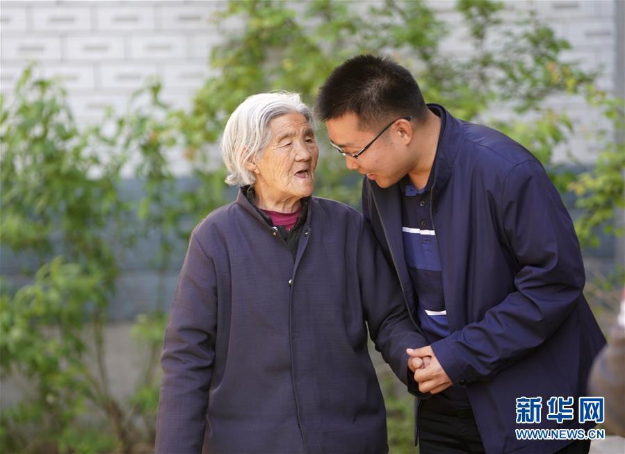 (圖片故事)(3)北大博士:我在雄安當村官