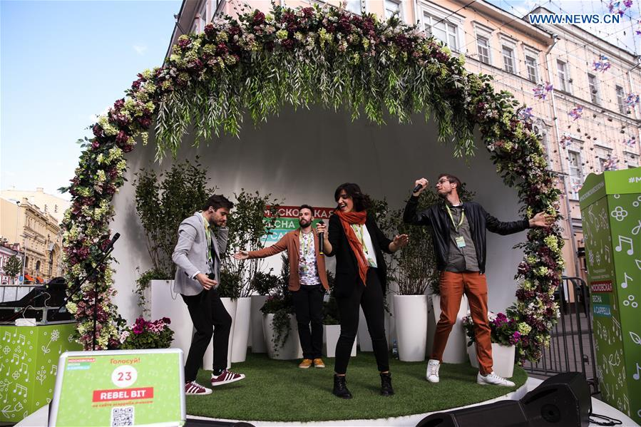 Highlights of Moscow Spring A Cappella Festival