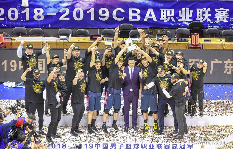 (SP)CHINA-XINJIANG-URUMQI-CBA FINAL(CN)
