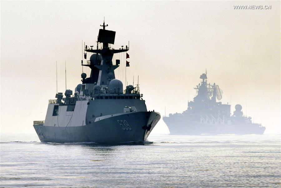 China-Russia joint naval exercise concludes in Qingdao (3