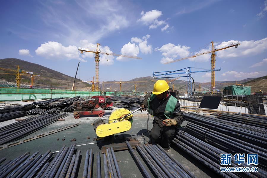 (体育)(29)2022年北京冬奥会场馆建设加快推进