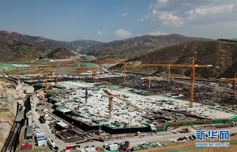 (体育)(31)2022年北京冬奥会场馆建设加快推进