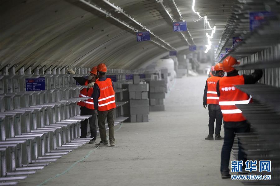 (体育)(19)2022年北京冬奥会场馆建设加快推进