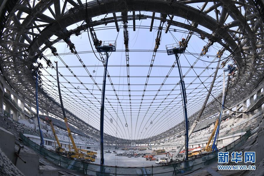 (体育)(3)2022年北京冬奥会场馆建设加快推进