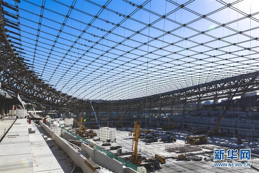 (体育)(4)2022年北京冬奥会场馆建设加快推进