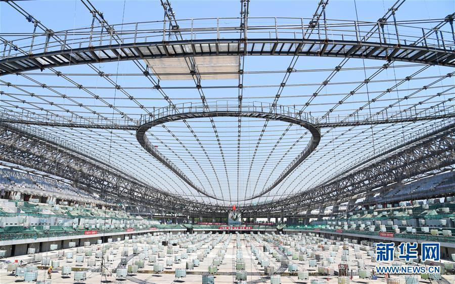 (體育)(1)2022年北京冬奧會場館建設加快推進