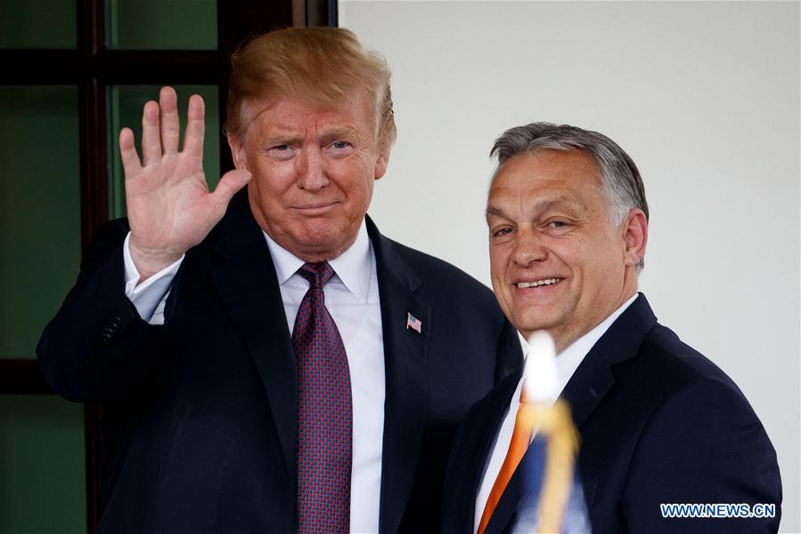 U.S.-WASHINGTON D.C.-TRUMP-HUNGARY-PM-MEETING