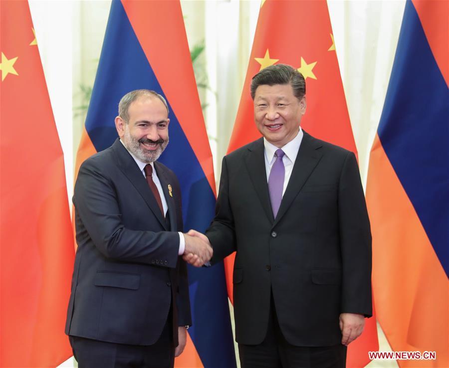 CHINA-BEIJING-XI JINPING-ARMENIAN PM-MEETING (CN)
