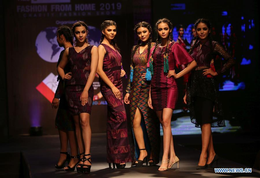 Fashion Show Fashion From Home 2019 Held In Kathmandu Nepal 4 People S Daily Online