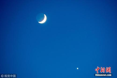 """今晚行星合月 你会加入""""追星""""的行列吗?"""