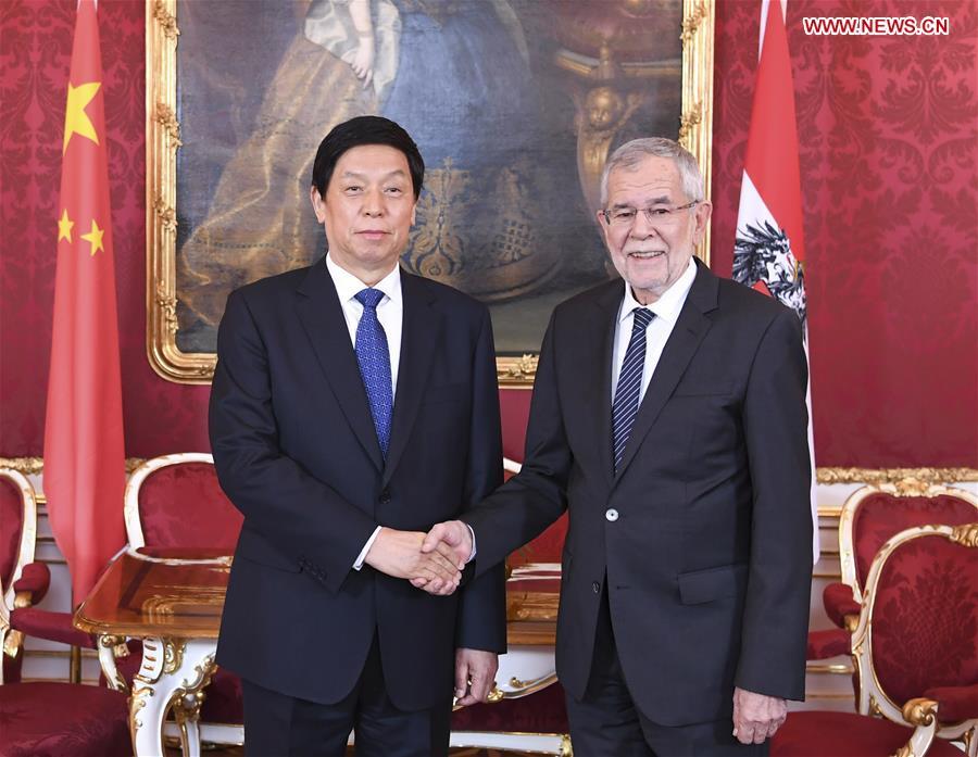 China's top legislator seeks to tap cooperation potentials with Austria
