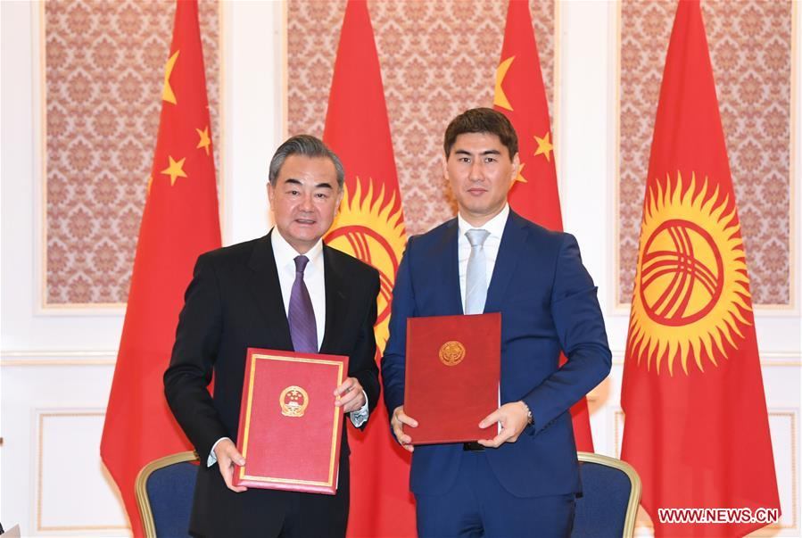 Chinese, Kyrgyz officials vow to enhance bilateral cooperation