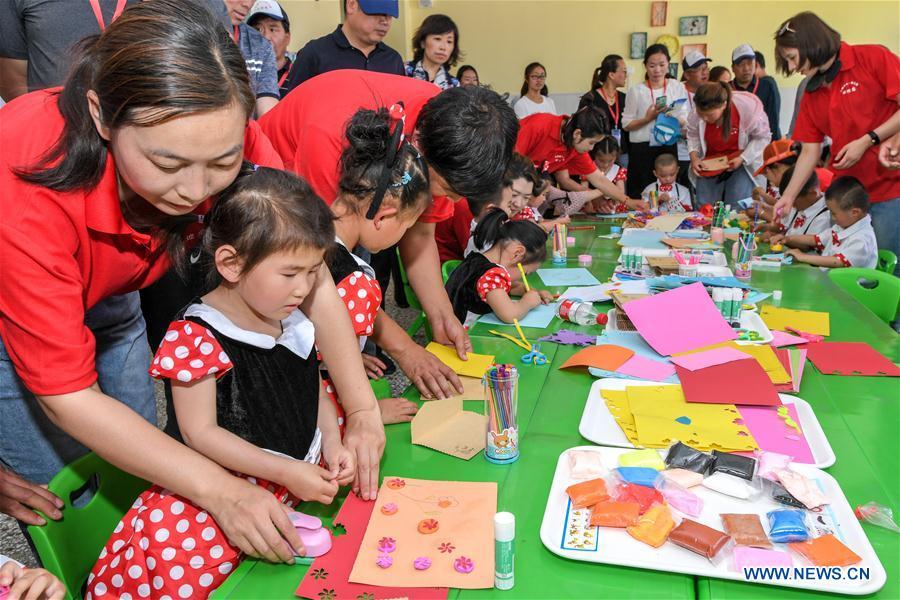 CHINA-SHANXI-WANRONG-CHILDREN-GAME(CN)