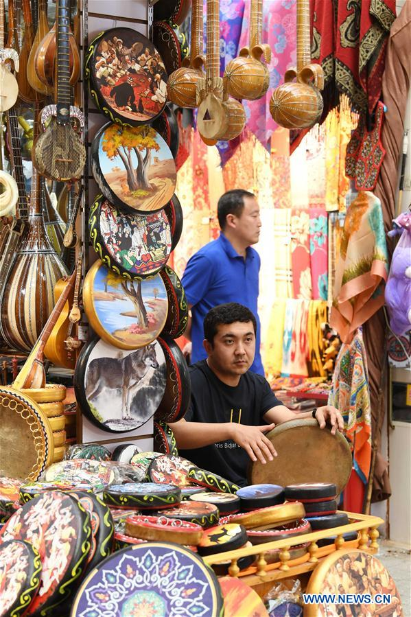 In pics: Xinjiang International Grand Bazaar in Urumqi