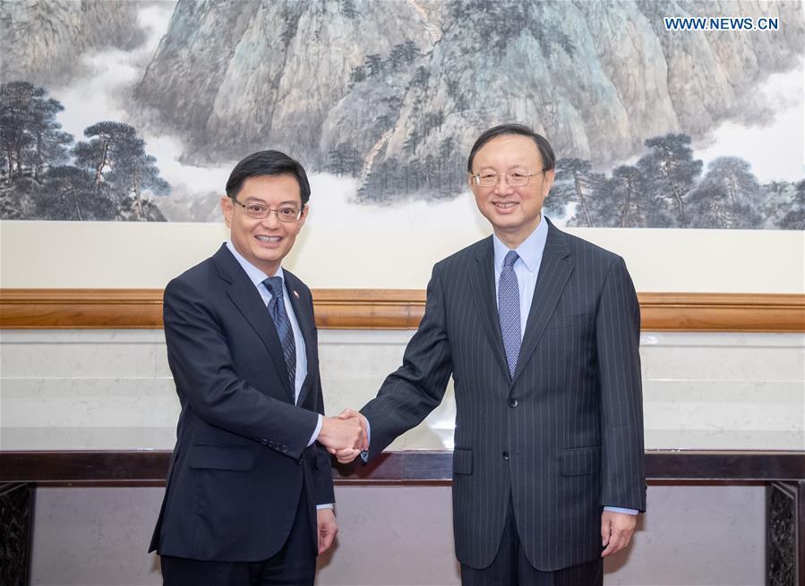 CHINA-BEIJING-YANG JIECHI-SINGAPORE-HENG SWEE KEAT-MEETING (CN)