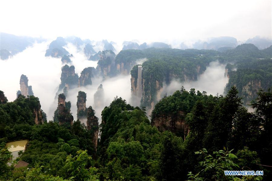#CHINA-HUNAN-ZHANGJIAJIE-SCENERY (CN)