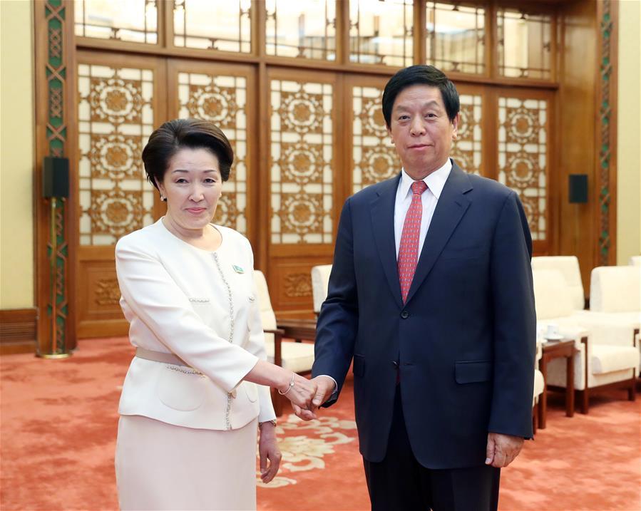 CHINA-BEIJING-LI ZHANSHU-KAZAKHSTAN-MEETING (CN)