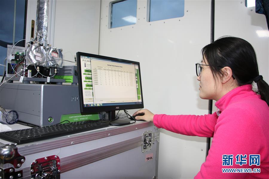 (图文互动)(5)第二次青藏科考首次获得青藏高原海拔7000米高空大气组分科学观测数据