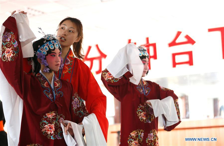 #CHINA-SHANDONG-QINGDAO-PEKING OPERA-INHERITING (CN)