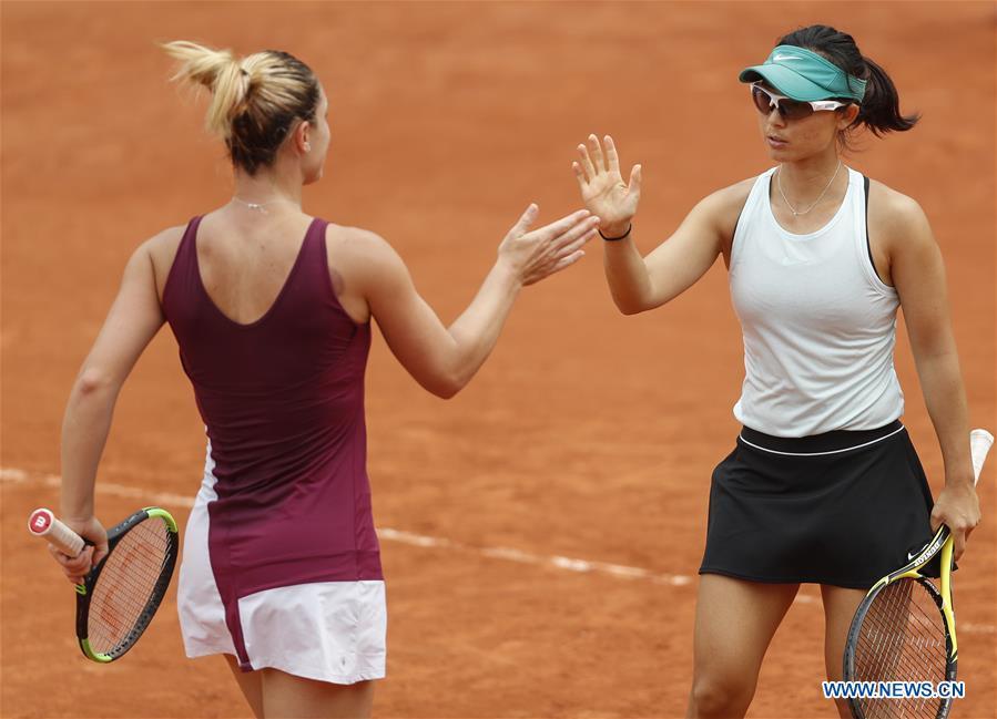 (SP) FRANCE-PARIS-TENNIS-ROLAND GARROS-WOMEN'S DOUBLES