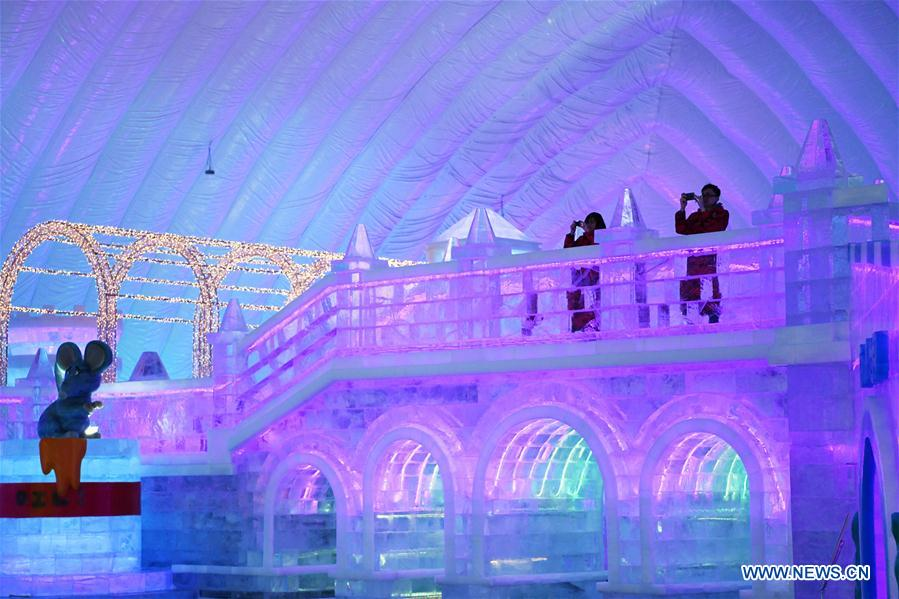 CHINA-HEILONGJIANG-HARBIN-ICE-SNOW THEME PARK (CN)