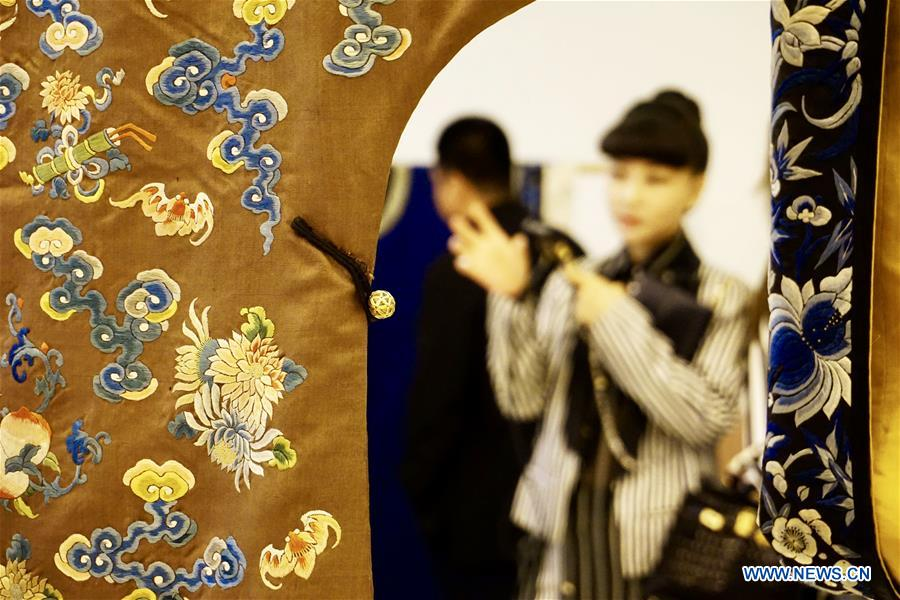 CHINA-BEIJING-VINTAGE CHINESE GARMENTS-EXHIBITION (CN)