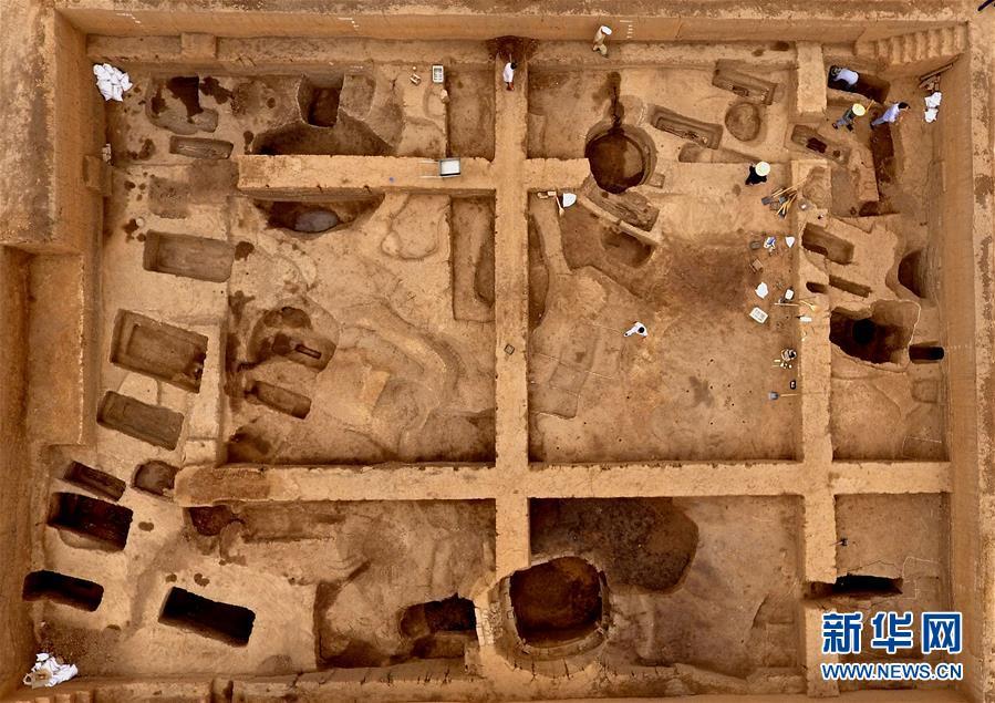 (图文互动)(1)考古人员首次明确发现商代铸铜工匠家族墓地