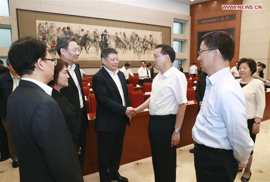 CHINA-BEIJING-LI KEQIANG-NE CHINA-REVITALIZATION (CN)