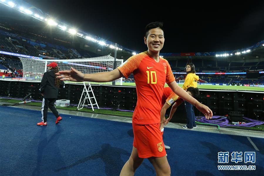 (女足世界杯)(2)足球――B组:中国队战胜南非队