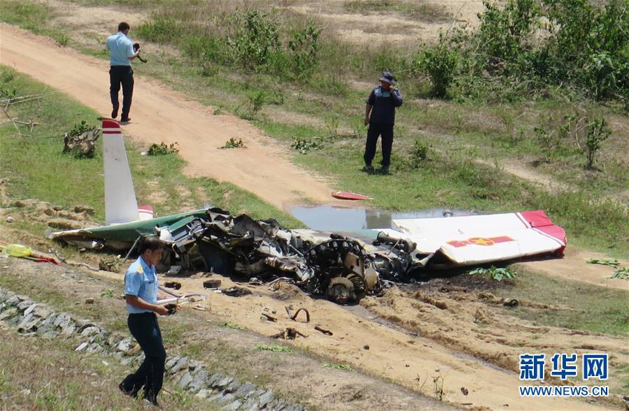 (国际)(2)越南一军机坠毁 2人死亡