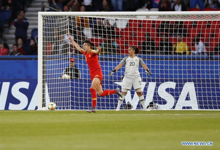 (SP)FRANCE-PARIS-2019 FIFA WOMEN'S WORLD CUP-GROUP B-CHN VS RSA