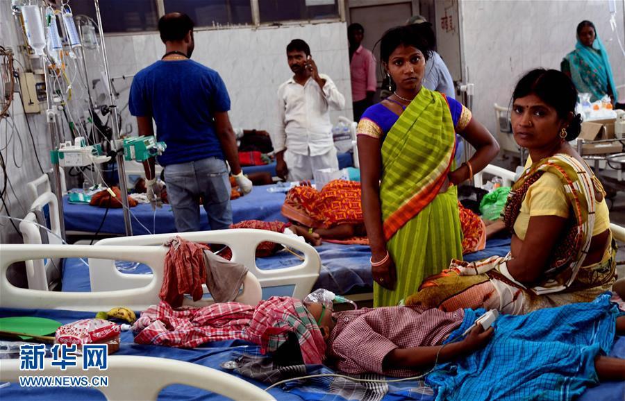 (国际)(1)印度比哈尔邦急性脑炎致死儿童升至100人