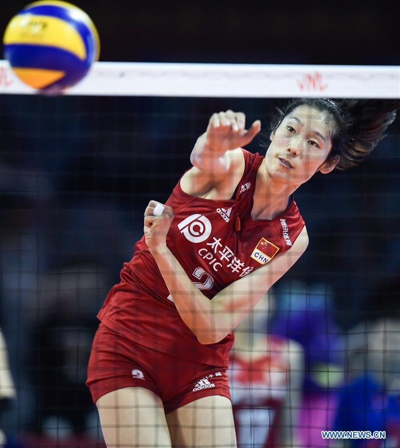 FIVB Volleyball Nations League 2019: China vs  Germany (11