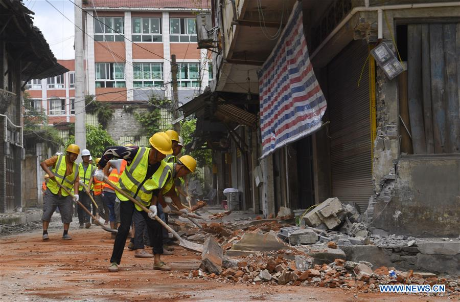 Rescue operation continues as death toll rises to 13 in China earthquake