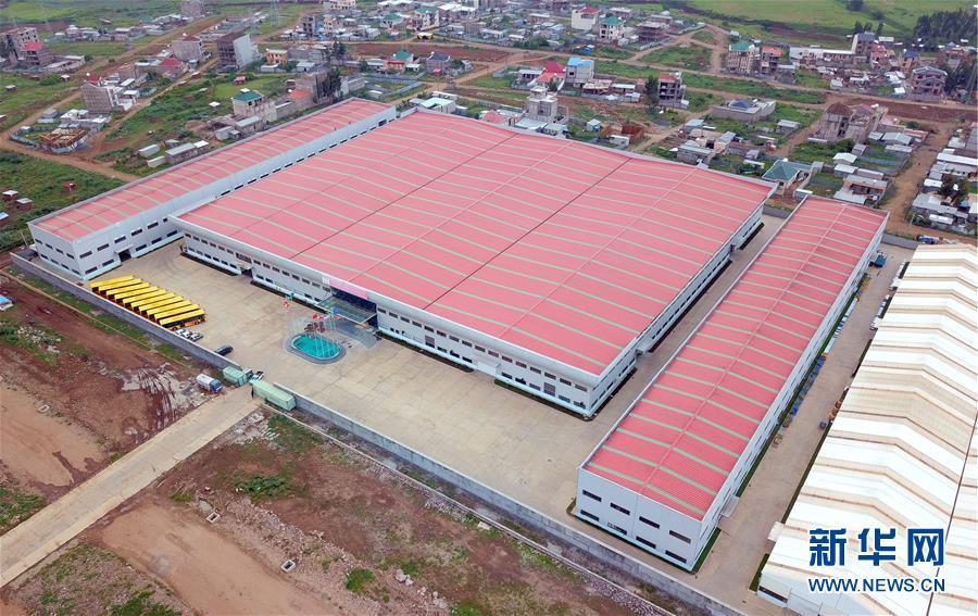 (国际)(1)探访埃塞俄比亚华坚轻工业城