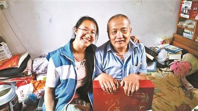 """张昕月""""90后""""北京大妞:养老驿站的""""全民闺女"""""""