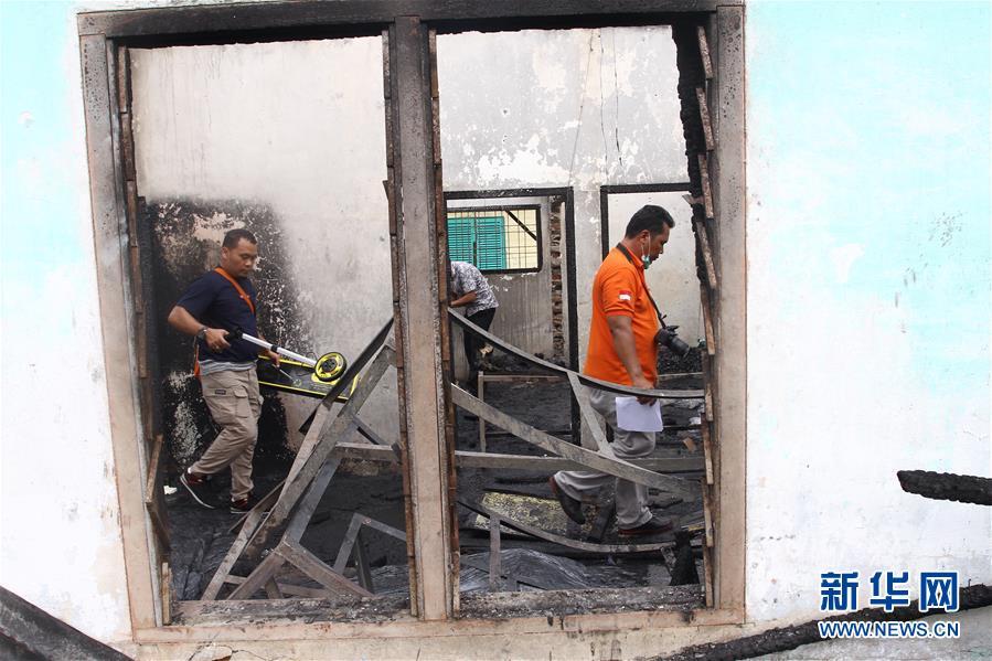 (国际)(1)印尼一打火机厂爆炸起火致30人死亡
